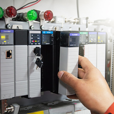 New PLC for used blowmolding machines